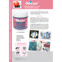 Odicoat Fabric waterproofing, Fabric laminator 4 Sewing Buddies Australia