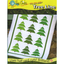 Tree Line Pattern by Cozy Quilt Designs Sewing Buddies Australia