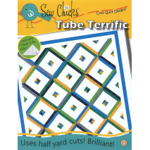 Tube Terrific Pattern by Cozy Quilt Designs Sewing Buddies Australia