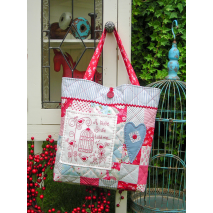 A Little Birdie - Bag by Sally Giblin, The Rivendale Collection Sewing Buddies Australia