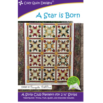 A Star is Born Pattern by Cozy Quilt Designs Sewing Buddies Australia