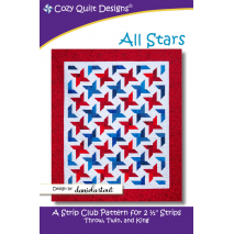All Stars Pattern by Cozy Quilt Designs Sewing Buddies Australia