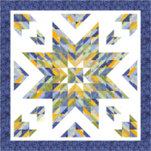Almost Alone Star Pattern by Cozy Quilt Designs - See Video 2 Sewing Buddies Australia