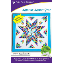 Almost Alone Star Pattern by Cozy Quilt Designs - See Video Sewing Buddies Australia