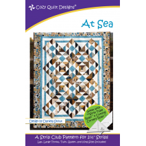 At Sea Pattern by Cozy Quilt Designs - See Video Sewing Buddies Australia