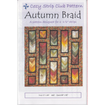 Autumn Braid Pattern by Cozy Quilt Designs Sewing Buddies Australia