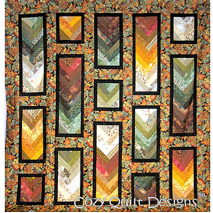 Autumn Braid Pattern by Cozy Quilt Designs 2 Sewing Buddies Australia