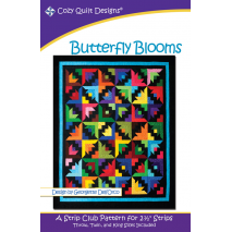 Butterfly Blooms Pattern by Cozy Quilt Designs Sewing Buddies Australia