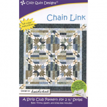 Chain Link Pattern by Cozy Quilt Designs - See Video Sewing Buddies Australia