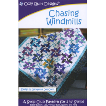 Chasing Windmills Pattern by Cozy Quilt Designs - See Video Sewing Buddies Australia