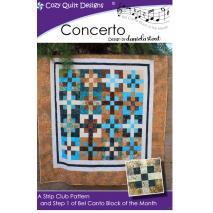 Concerto (Bel Canto Block 1)  by Cozy Quilt Designs