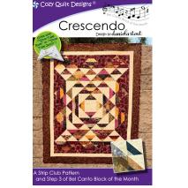 Crescendo (Bel Canto Block 3) by Cozy Quilt Designs Sewing Buddies Australia