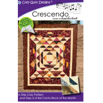 Crescendo (Bel Canto Block 3)  by Cozy Quilt Designs