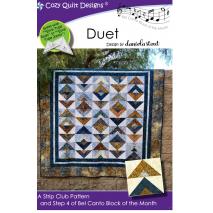 Duet (Bel Canto Block 4)  by Cozy Quilt Designs