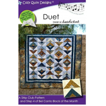 Duet (Bel Canto Block 4) by Cozy Quilt Designs Sewing Buddies Australia