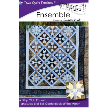 Ensemble (Bel Canto Block 5) by Cozy Quilt Designs Sewing Buddies Australia