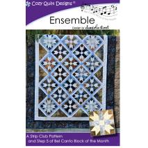 Ensemble (Bel Canto Block 5)  by Cozy Quilt Designs