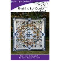 Crescendo (Bel Canto Block 3) by Cozy Quilt Designs 8 Sewing Buddies Australia