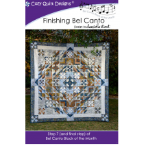 Finishing Bel Canto (Bel Canto Block 7)  by Cozy Quilt Designs