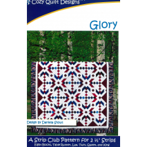 Glory Pattern by Cozy Quilt Designs - See Video Sewing Buddies Australia