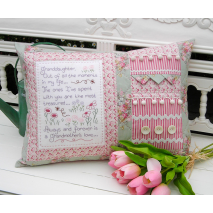 Granddaughter - Cushion by Sally Giblin, The Rivendale Collection Sewing Buddies Australia