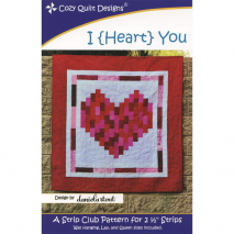 I {Heart} You by Cozy Quilt Designs Sewing Buddies Australia