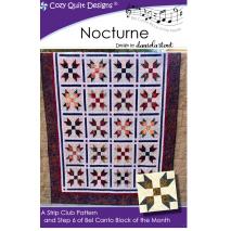 Sonata (Bel Canto Block 2) by Cozy Quilt Designs 7 Sewing Buddies Australia