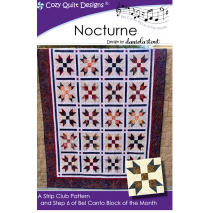 Nocturne (Bel Canto Block 6) by Cozy Quilt Designs Sewing Buddies Australia