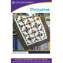 Pirouette Pattern by Cozy Quilt Designs - See Video Sewing Buddies Australia
