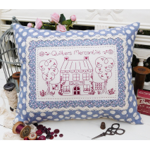 Quilters Mercantile - Cushion by Sally Giblin, The Rivendale Collection Sewing Buddies Australia