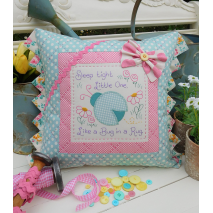 Sleep Tight - Cushion by Sally Giblin, The Rivendale Collection Sewing Buddies Australia