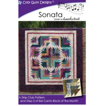 Sonata (Bel Canto Block 2)  by Cozy Quilt Designs