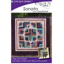 Sonata (Bel Canto Block 2) by Cozy Quilt Designs Sewing Buddies Australia