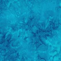 1895 Watercolour Batik by Hoffman #061 Turquoise Sewing Buddies Australia
