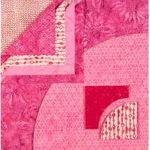 Drunkards Path Pre-Cut Kit - Pretty in Pink Sewing Buddies Australia