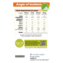 Angle of Incident by Cozy Quilt Designs 2 Sewing Buddies Australia