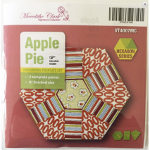 Apple Pie Patchwork Template Set - Playing with Hexagons - Sewing Buddies Australia