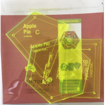 Apple Pie Patchwork Template Set - Playing with Hexagons 4 Sewing Buddies Australia
