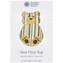 Bear Floor Jelly Roll Rug Pattern 2 Sewing Buddies Australia