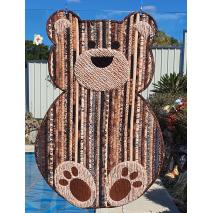 Bear Floor Jelly Roll Rug Pattern Sewing Buddies Australia