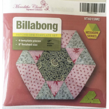 Playing with Hexagons Complete Set Patchwork Template Matilda's Own 10 Sewing Buddies Australia