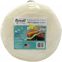 Bosal Katahdin 100% Cotton Jelly Roll Rug Batting 50 Yards Sewing Buddies Australia