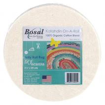 Bosal Katahdin 100% Cotton Jelly Roll Rug Batting 25 Yards Sewing Buddies Australia