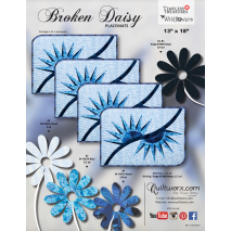 Broken Daisy Placemats Pattern  Judy Niemeyer