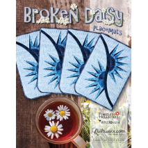 Broken Daisy Placemats Pattern Judy Niemeyer Sewing Buddies Australia