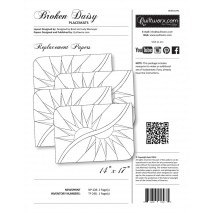 Broken Daisy Placemats Replacement Papers Judy Niemeyer Sewing Buddies Australia