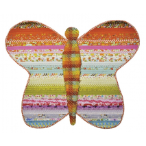 Butterfly Floor Jelly Roll Rug Pattern Sewing Buddies Australia