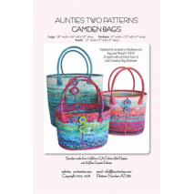 Camden bags by Aunties Two Patterns ~ Jelly Roll Friendly Sewing Buddies Australia