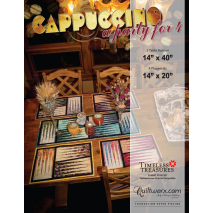 Cappuccino Placemats and Table Runner Pattern Judy Niemeyer Sewing Buddies Australia