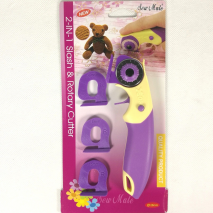 2 in 1 Slash and Rotary Cutter - Chenille Cutter Sewing Buddies Australia